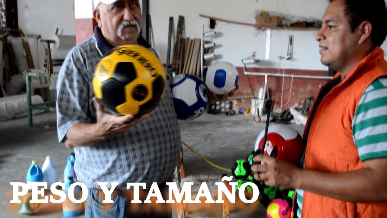Fabrica de balones primera parte - YouTube 1a5a9c5479293