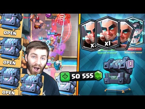 MAX MAGIC ARCHER HUNT #2!! OPENING x20 LEGENDARY KINGS CHEST! | Clash Royale MAGIC ARCHER STRUGGLES?