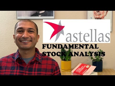 Astellas Pharma (ALPMY) ADR - Japanese Stock  - Value Investing - Fundamental Analysis