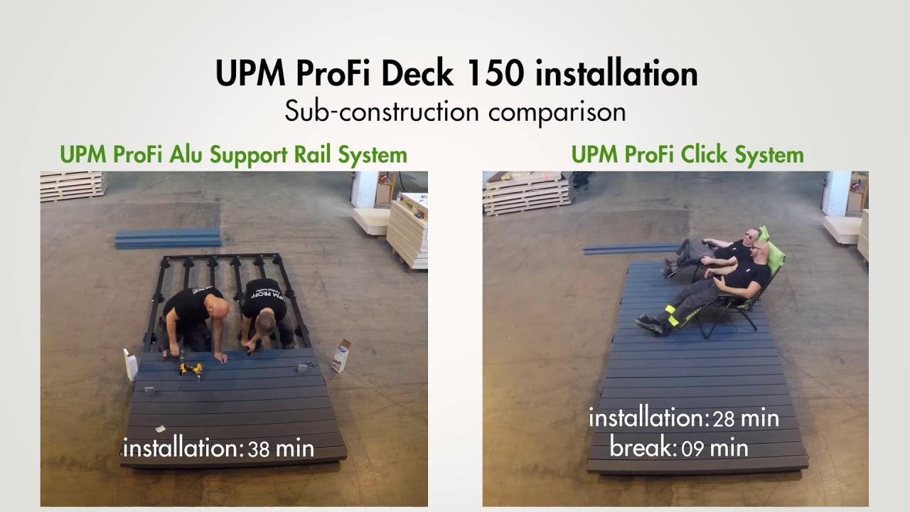 UPM ProFi Deck - die neuen Produkte 2018