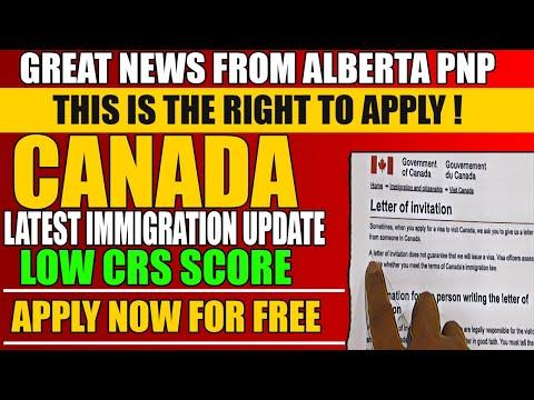 CANADA BIG UPDATE GET EASY PR | ALBERTA PNP 2020