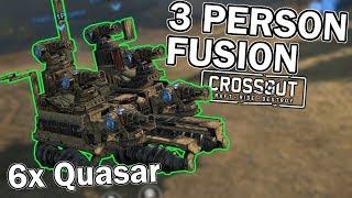 3 PERSON FUSION CAR - Crossout