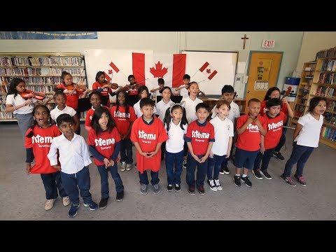 Happy Canada Day from Sistema Toronto and The Co-operators! (Short version)