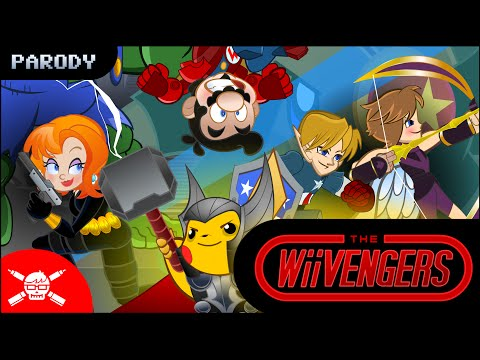 The Wiivengers - An Avengers / Nintendo-Verse Mashup (Parody)