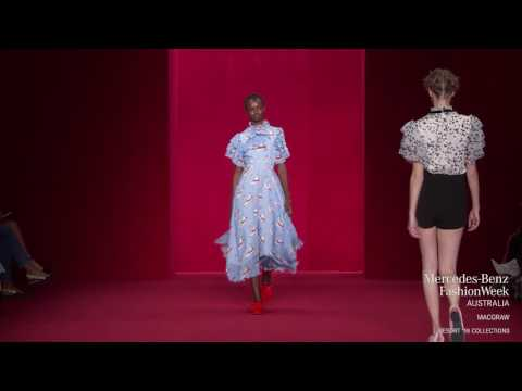 MACGRAW COLLECTION MERCEDES-BENZ FASHION WEEK AUSTRALIA RESORT 18 COLLECTIONS