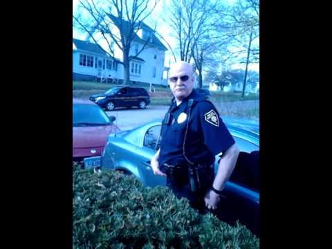 Burlington pd grabs phone outta my hand