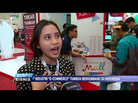 Industri E-Commerce Tumbuh Berkembang di Indonesia