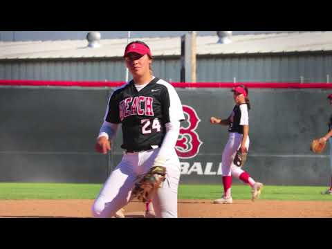 Long Beach City College ace pitcher Alissa Cienfuegos