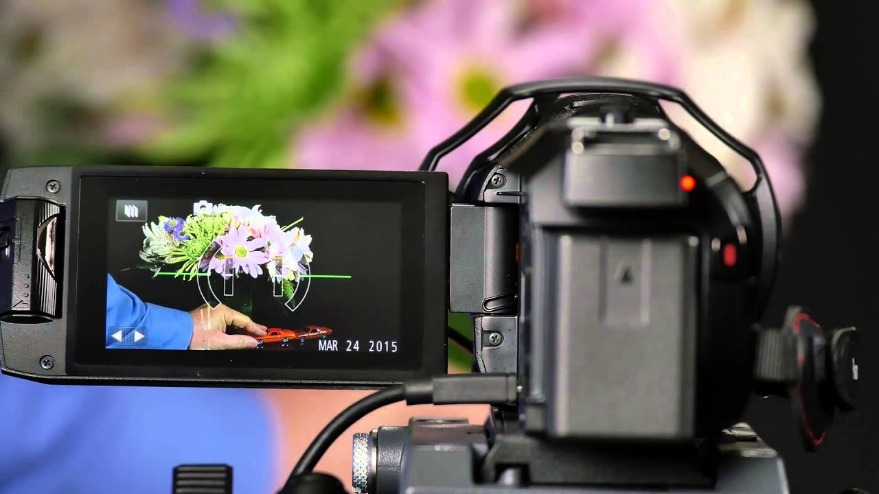 Panasonic Camcorder Stop Motion Animation Feature - YouTube