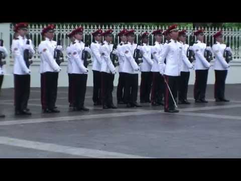 Singapore, Changing of the Guard (2/5)