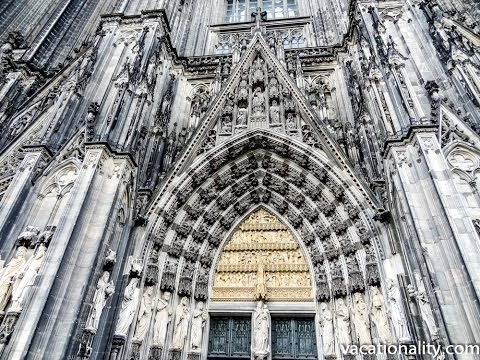 Cologne Cathedral. Largest Facade of any Church in the World. RTW, 35
