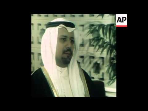 SYND 16 12 78  SHEIKH YAMANI INTERVIEW ON MIDDLE EAST PEACE
