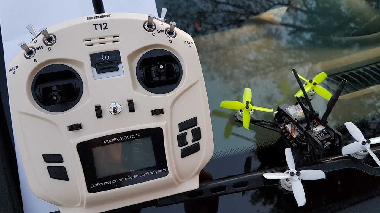 Review of Jumper T12 OpenTX 16CH Radio Transmitter w JP4-in-1 Multi