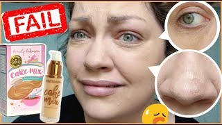 TOTAL FOUNDATION FAIL! | Let's Test!: Beauty Bakerie Cake Mix Foundation & Cake Face Concealer