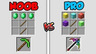 Minecraft NOOB vs. PRO: EMERALD BATTLE 2 in Minecraft!