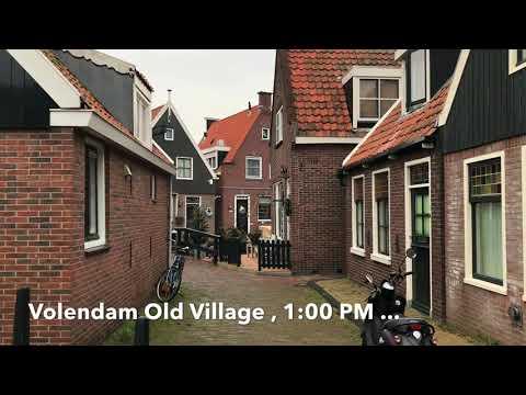 Netherlands Countryside. A Day Trip To Waterland: Edam, Marken, And Volendam...