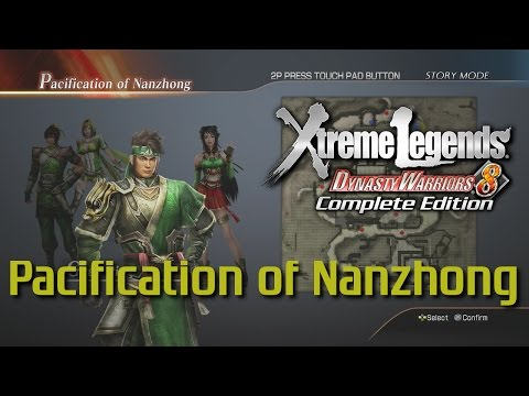 Dynasty Warriors 8 Xtreme Legends | Pacification of Nanzhong (Shu Hypothetical Route Ep.4)