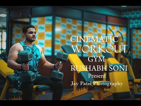 RUSHABH SONI II GYM II WORKOUT II  Present II Jay Patel Photography