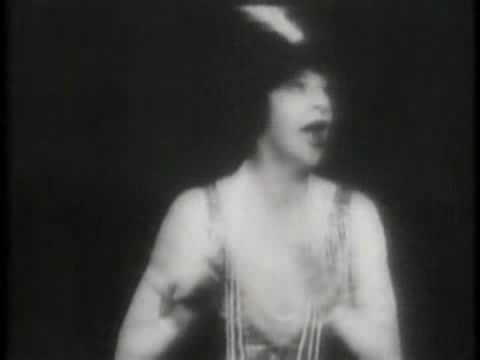 Fanny Brice as an opera diva