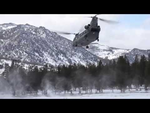 CNG Chinooks lift Marines into high elevation LZs