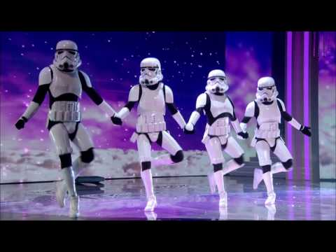 Let the force be with Boogie Storm | Semi Final 3 | Britain's Got Talent 2016