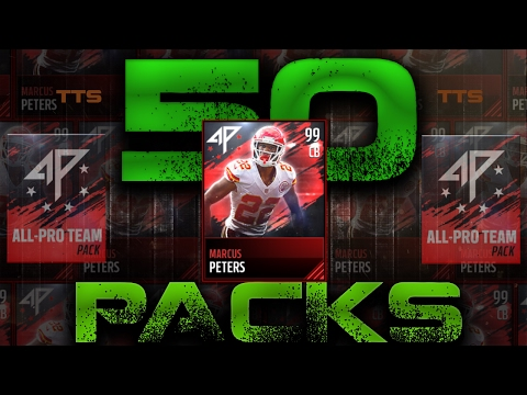 All Pro Team Pack Opening Madden Mobile 17 (RARE 99 PULL)