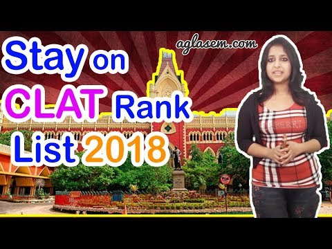 Supreme Court Puts Stay on CLAT 2018 Result / Rank List | Here's why