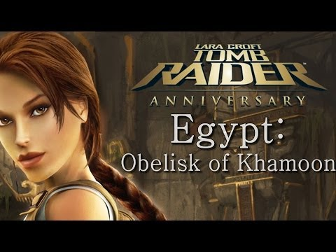 Tomb Raider Anniversary playthrough: Egypt - Obelisk of Khamoon (all secrets)