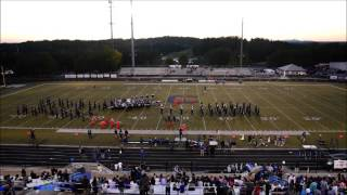 chs mighty marching knights at home 10 16 2015