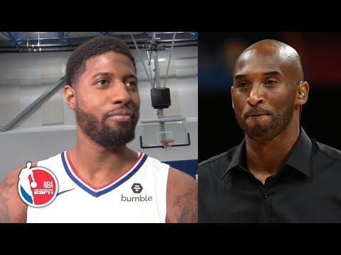 Paul George on meeting with Kobe Bryant, fishing with Kawhi Leonard | 2019 NBA Media Day
