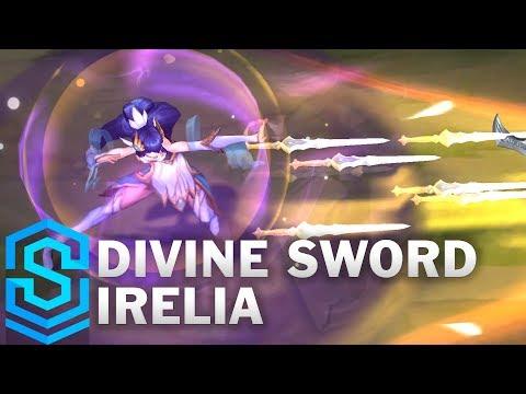Divine Sword Irelia Skin Spotlight - League of Legends