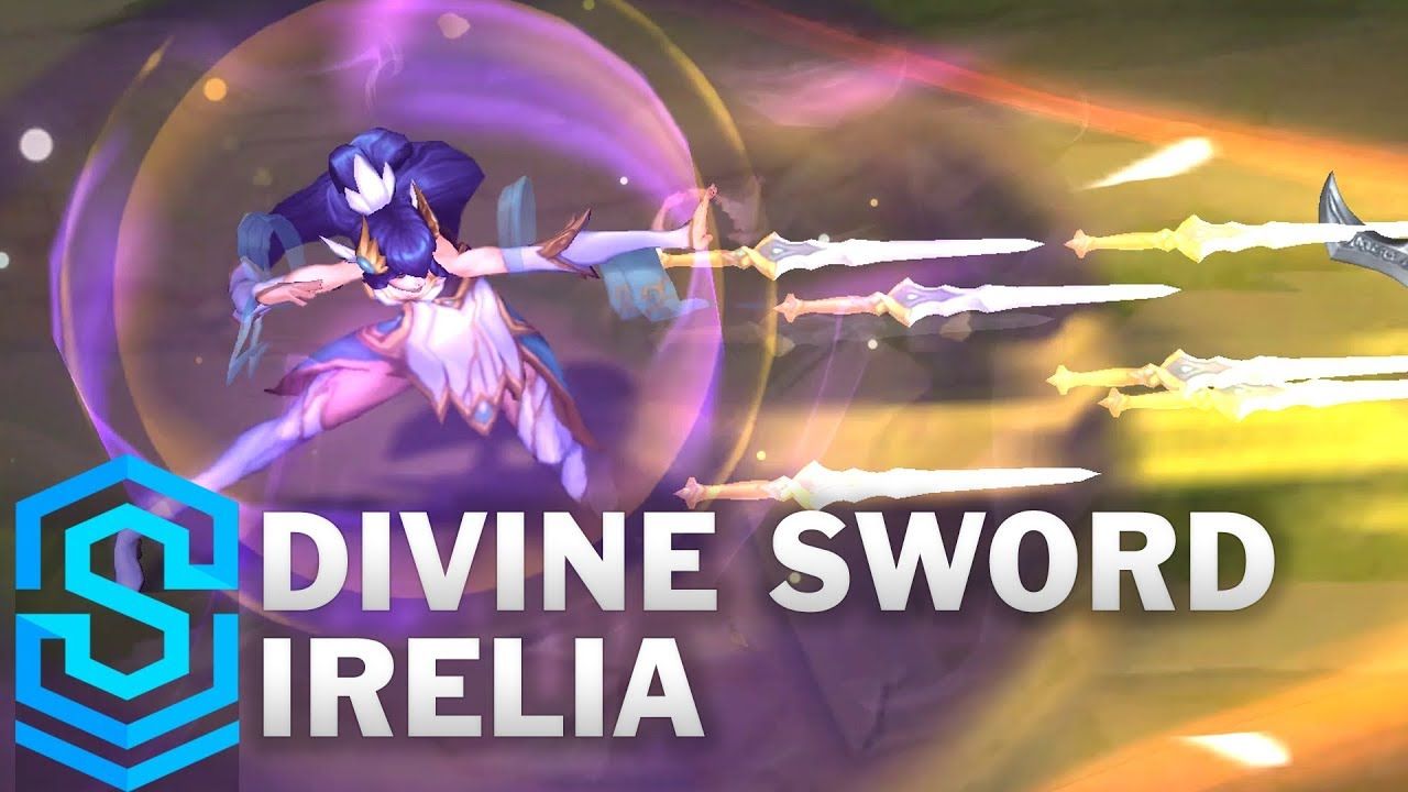 Divine Sword Irelia Skin Spotlight – League of Legends