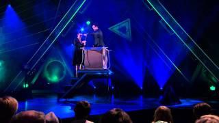 Helt magiskt: Michael Halvarson och Katrin Sundberg - Utbrytaren