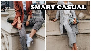 СТИЛЬ SMART CASUAL ДЛЯ ЖЕНЩИН STREET STYLE ЛЕТО 2020 смарт кэжуал мода и стиль 2020 ooutfits