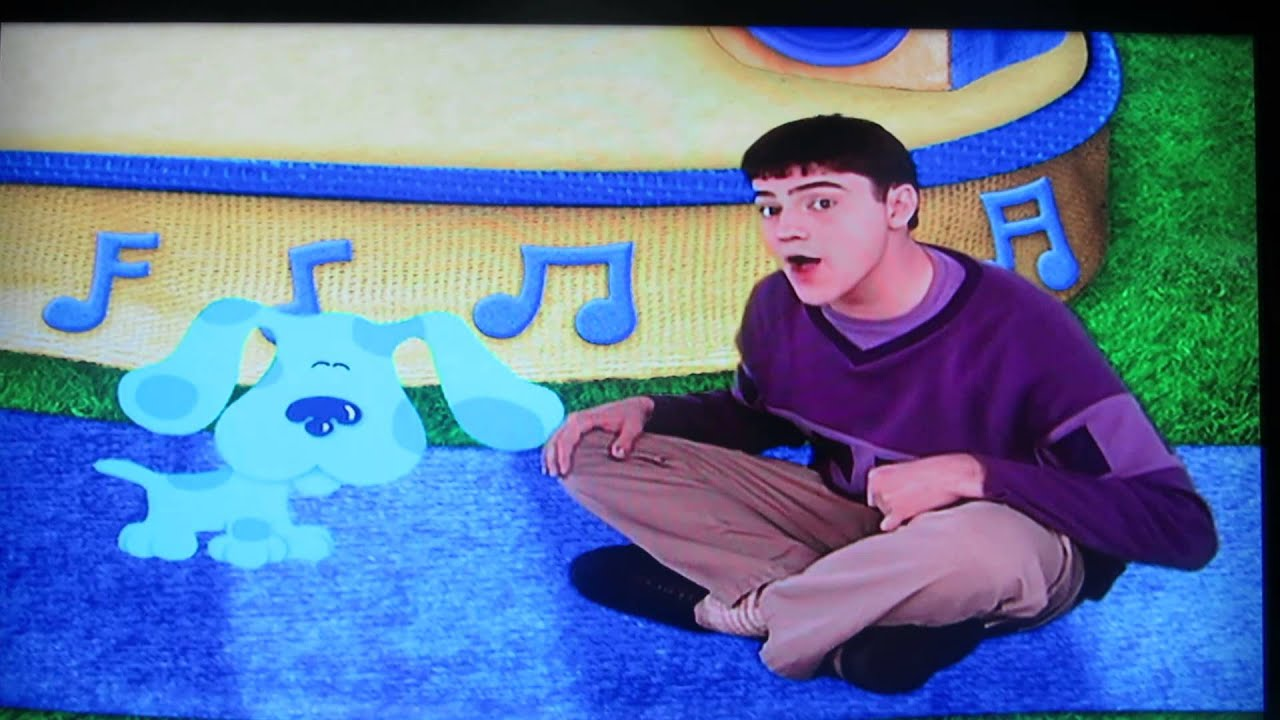 Blues Clues The Crappy New End Song Youtube