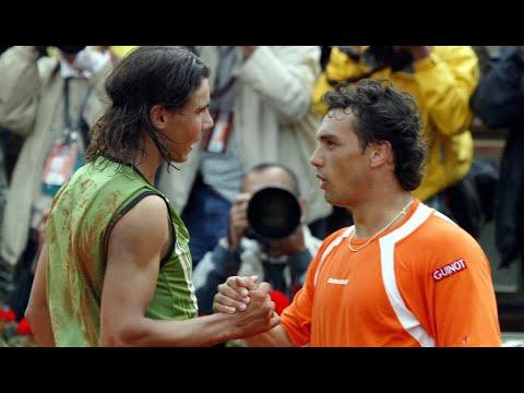 Rafael Nadal vs Mariano Puerta 2005 RG Final Highlights