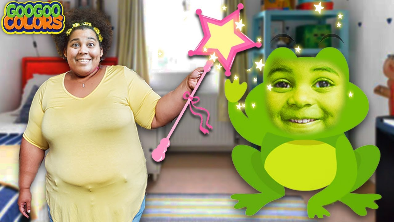 Oh No! Mom Turned Me Into A Frog! Pretend Play Compilation With Goo Goo Gaga