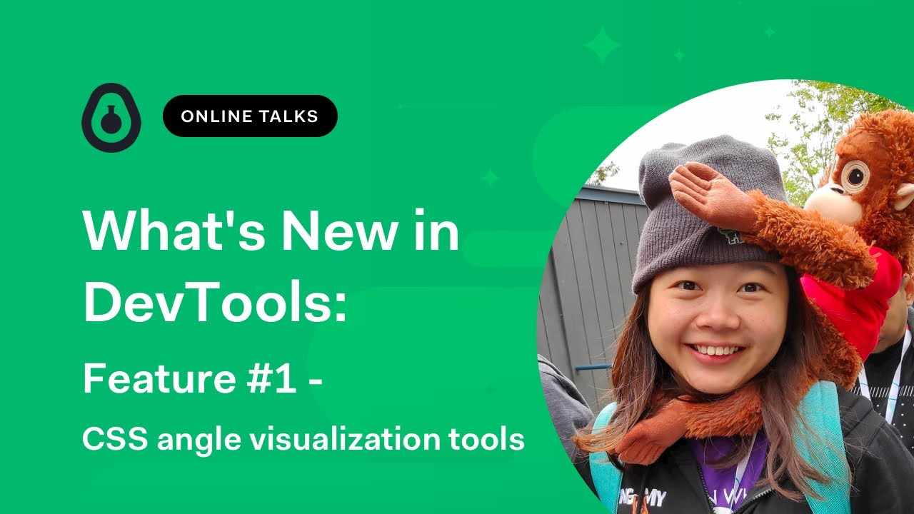 CSS angle visualisation tools Feature 1/3 - What's new in DevTools
