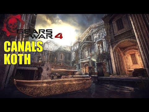 GEARS OF WAR 4 CANALS RETURNS! MY FAVORITE GEARS MAP :D