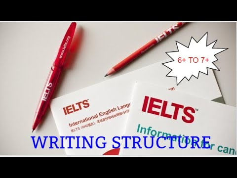 IELTS WRITING STRUCTURE WHICH ENABLES YOU TO JUMP FROM 6+ BAND TO 7+