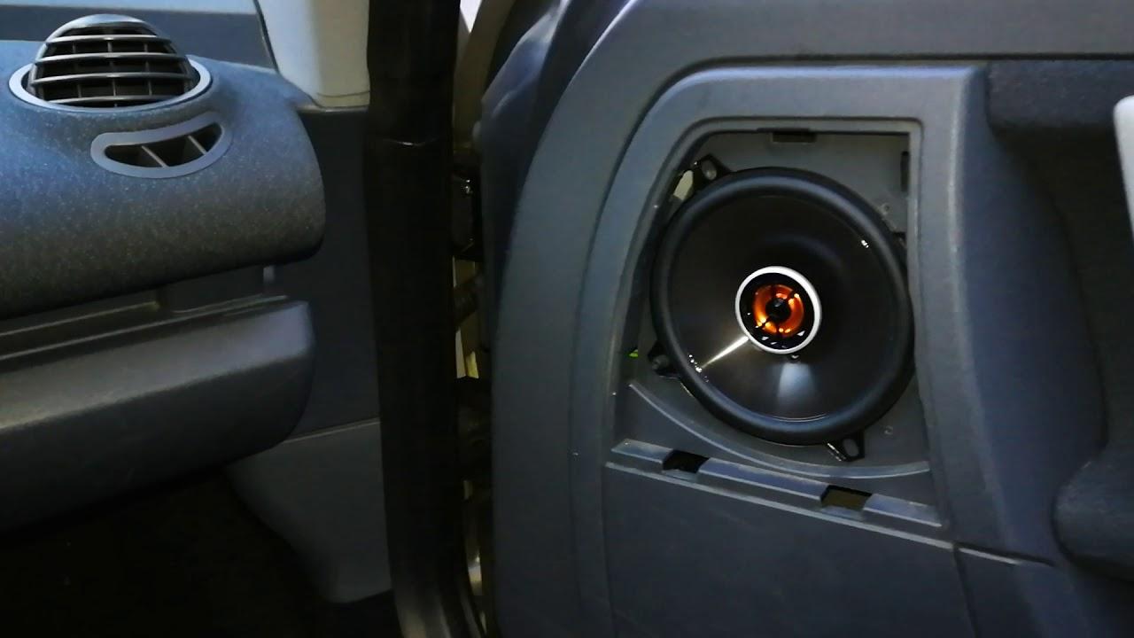 Smart Roadster 452 Lautsprecher Einbauen Speakers Replacement Youtube