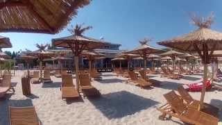Albena (Албена) beach resort Bulgaria(http://videomapbulgaria.com/ Albena (Албена) beach resort Bulgaria, beautiful long sandy beach, restaurants, cafe's and bars...Albena has it all., 2014-07-20T18:18:44.000Z)