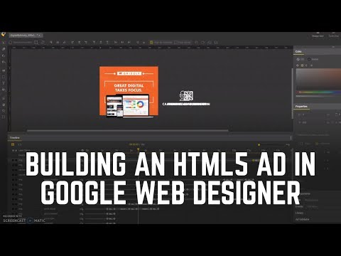 Google Web Designer: Creating An HTML5 Banner Ad (Part 1)
