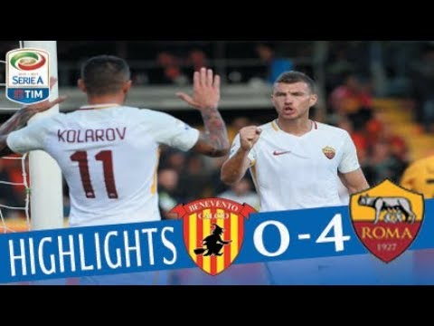 Benevento - Roma - 0-4 - Highlights - Giornata 5 - Serie A TIM 2017/18