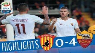 Benevento - Roma 0-4 - Highlights - Giornata 5 - Serie A TIM 2017/18 streaming