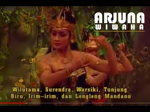 Wayang Orang - ARJUNA WIWAHA Bersama Sekar Budaya Nusantara