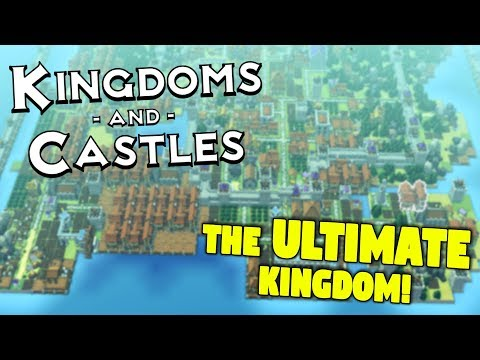 THE ULTIMATE COLONY! - BIGGEST WALLED COLONY EVER! - Must See Kingdoms and Castle Gameplay!