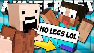 If Minecraft Players Had No Legs
