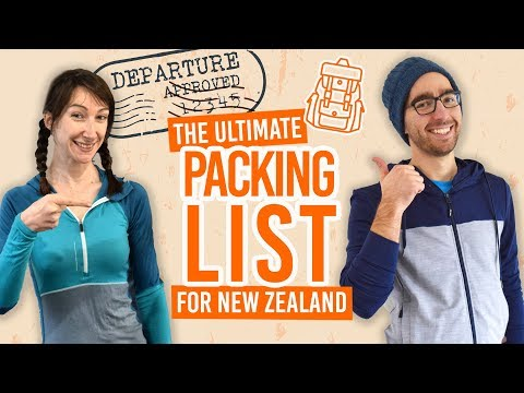 What to Pack for New Zealand: New Zealand Packing List