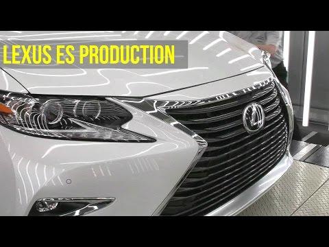 2017 Lexus ES Production